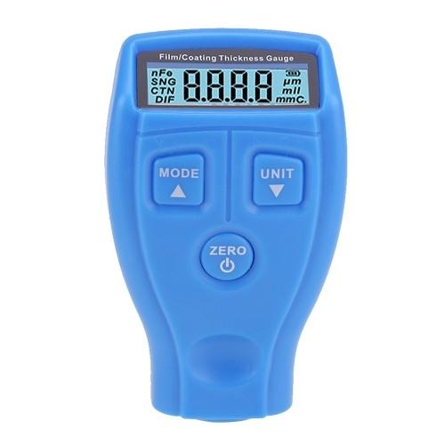 Paint Thickness Gauge Meter Coating Thickness Gauge Paint Depth Gauge Meter with Backlight LCD Display