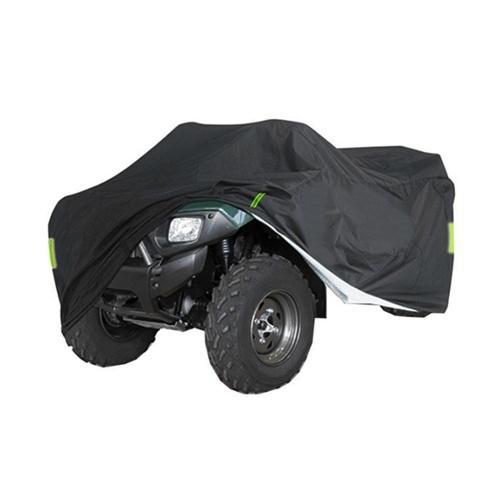 Copertura universale ATV ATV resistente 190T Antipioggia antipolvere Anti-UV Ripstop Protezione esterna per veicoli da spiaggia con striscia riflettente notturna