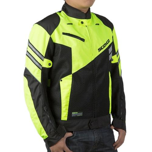 Scoyco JK36 Motorcycle Jacket Motocross Racing Safety Sportswear