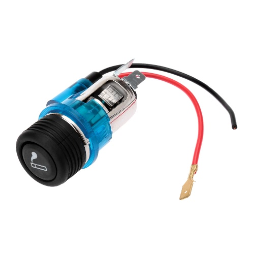 12V Illuminated Car Cigarette Cigar Lighter Socket Plug Replacement Kit