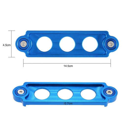 Car Battery Tie Down Brace Aluminum Mount Bracket Hoder Bar for Honda Civic K4185BL