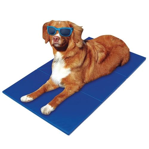 "TIROL Pet Cooling Gel Mat Mat Cool Bed Dog Cat Summer Pad Bed (36 ""x20"")"