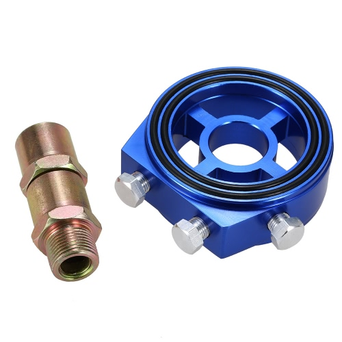 Universal Oil Filter Adapter Cooler Sandwich Plate