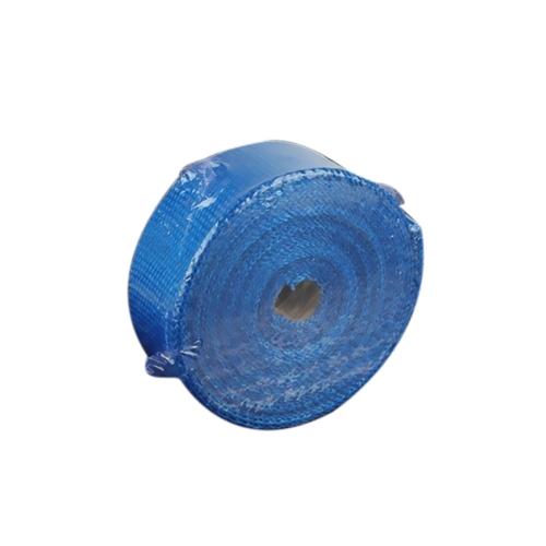 Wrap de chaleur d'échappement de 5m Wrap de fibre de verre d'isolation thermique Wrap de chaleur de bouclier durable pour la voiture de moto avec 6 liens