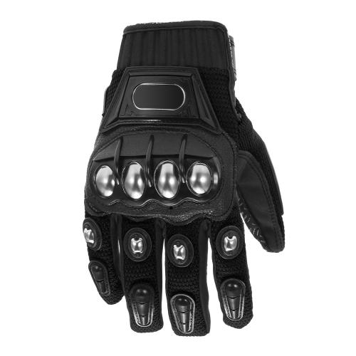 Alloy steel bicycle motorcycle motorbike powersports racing gloves