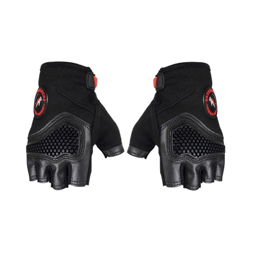 Deportes Racing Ciclismo Motocicleta MTB Bike Bicycle Gel medio dedo Guantes M / L / XL