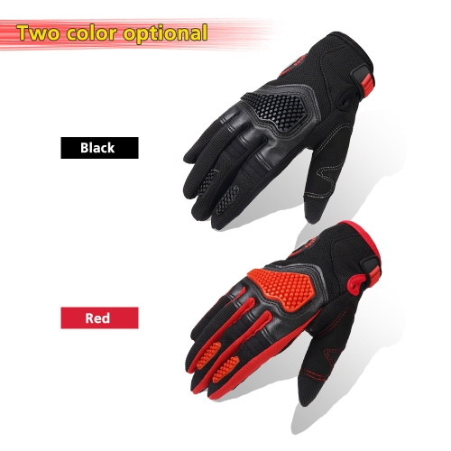 Sports Racing Cycling Motorcycle MTB Bike Bicycle Gel  Finger Gloves   M/L/XL K6472B-M