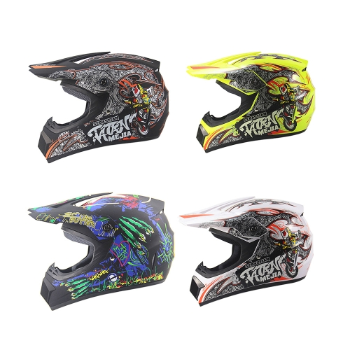 Off Road Casco Motorcycle & Moto Dirt Bike Motocross Racing Helmet K6478W-M