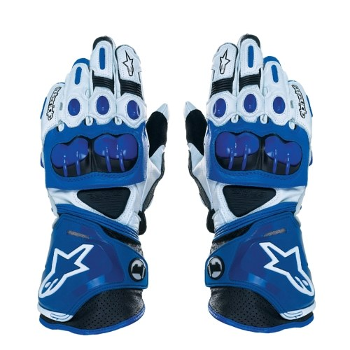 Racing Henuine Leather Motorbike Gloves