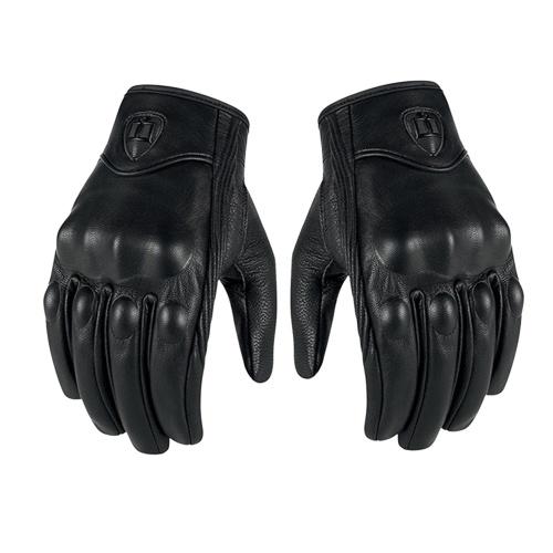 Echte Lederhandschuhe Motorrad GP Handschuh