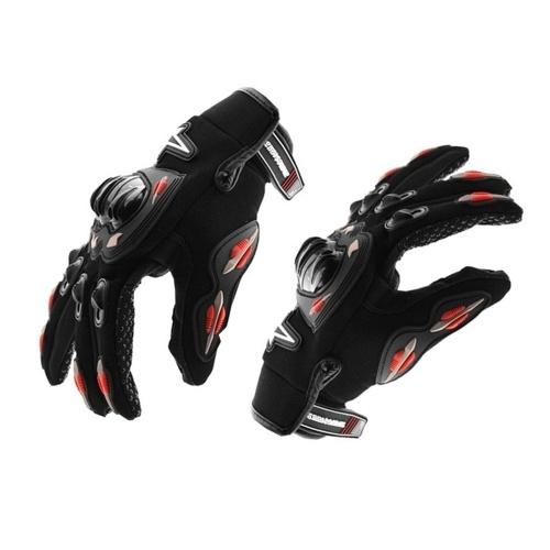 Sommer-volle Finger-Motorrad-Handschuhe