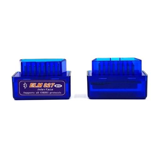 Outil de diagnostic automatique Mini BT OBD2 ELM327