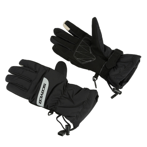 Scoyco Full Finger Motorcycle Cycling Racing Riding Protective Gloves Water-proof Warm Glove for Winter M L XL XXL