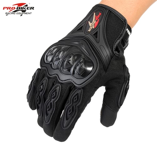 Pro-biker Motorcycle Cycling Racing Riding Full Finger Gloves M L XL