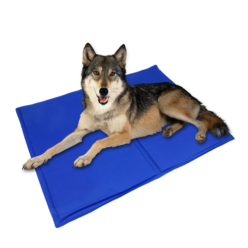"TIROL Pet Cooling Gel Mat Mat Cool Bed Dog Cat Summer Pad Bed (26 ""x20"")"