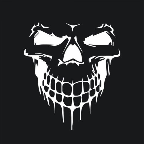 Novel Scary Cool Skull Squelette Pattern Car Engine Cover Waterproof Auto Sticker Outdoor Window Reflective Sheeting 3D Pare-brise Décalage arrière Styling Auto Vehicle Extérieur Décoration Accessoires de couverture