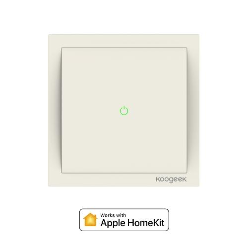 le commutateur d'éclairage intelligent Wi-Fi activé Koogeek seulement 26,41 €