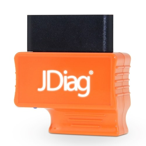 JDiag Enhanced BT FASLINK M2 OBDII Scanner Professional Vehicle Diagnostic Tool, Car Engine Code Reader for IOS and Android, With Voice Control Function