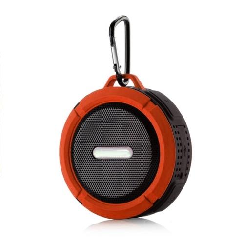 Alto-falante BT impermeável ao ar livre, alto-falante portátil sem fio com som estéreo 3D aprimorado