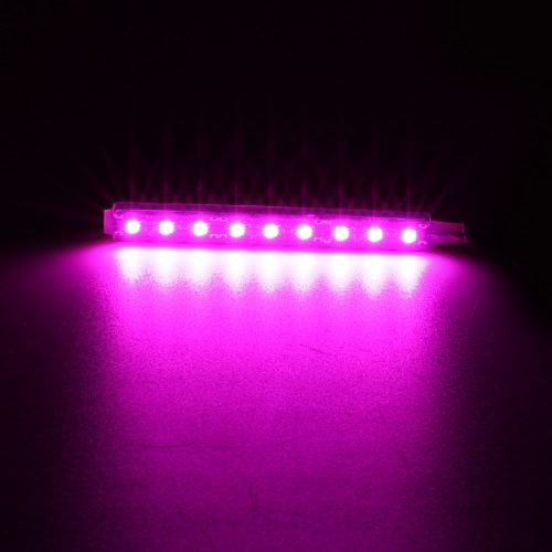 2 in 1 LED Interior Atmosphere Light Bar Car Auto Romantic Decoration Lamp Kit 12V