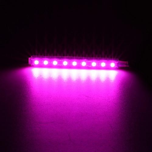 2 en 1 Ambiance LED Intérieur Light Bar Car Auto lampe de décoration romantique Kit 12V