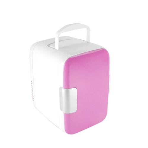 4L Mini Car Fridge Freezer Cooler Warm Use 12V Portable Icebox