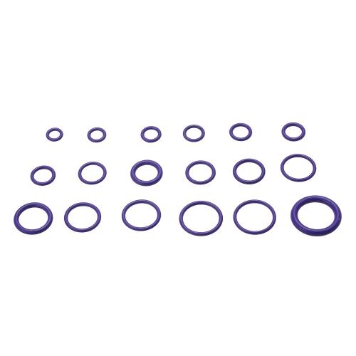 270pcs Assortment Kit Car HNBR A/C System Air Conditioning O Ring Seals Set Tool