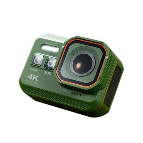 Multifunctional 4K SOS WiFi Flashlight WDR Record Camera Diving Camera