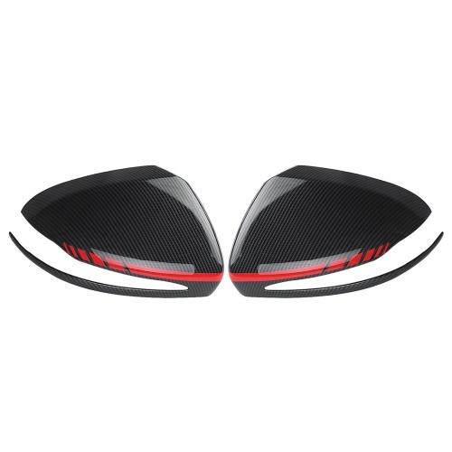 Car Rear View Mirror Cover protettiva Accessori interni per Benz Mercedes C200L E300L GLC260