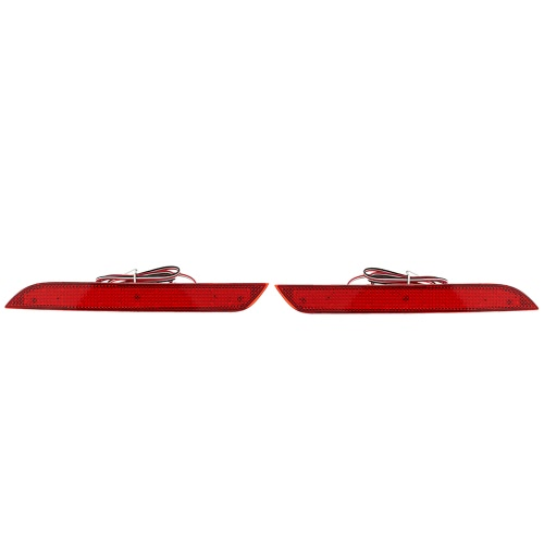 Pair of Rear Bumper Reflector Lamp Replacement Modification Parking Brake Light for BMW 5 Series