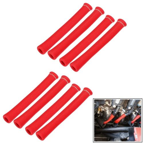 1200 Degré Spark Sleeve fil de fiche Bottes Heat Shield Protector