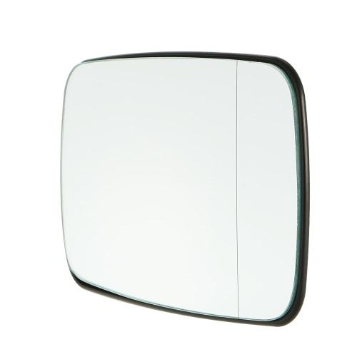 Lado izquierdo de la puerta del ala espejo de cristal con función de calefacción para BMW E46 318 320 325 330 1998-2006