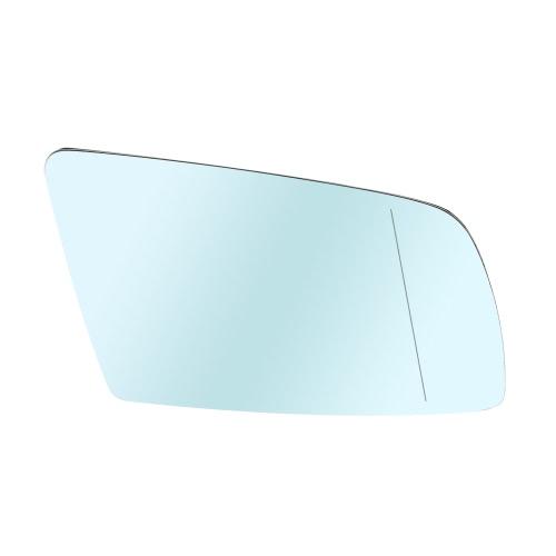 Vidro de espelho de porta de porta de carro com função aquecida para BMW E60 520d 520i 523li 525li 530li 2004-2007