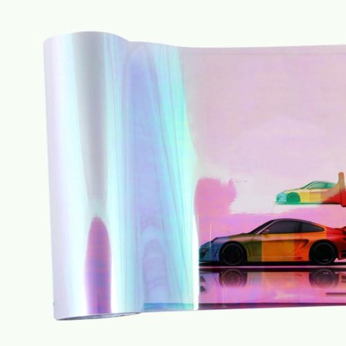 120 * 30 cm Chameleon brillant Automobile Styling Phares Feux arrière Feux de film translucide Change Color Tint Car Protective Film Stickers