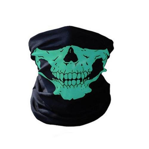 Unseamed Multifunctional Headband Skull Bandana