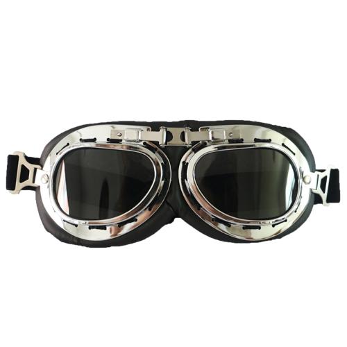 Retro areia à prova de motocicleta óculos de proteção à prova de poeira e óculos à prova de vento