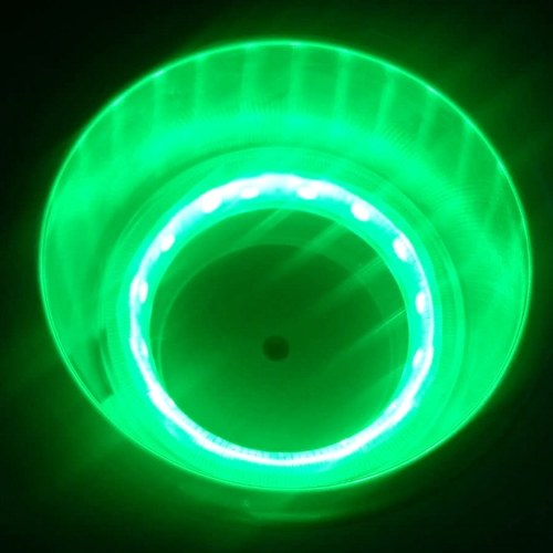 ボート車用キャンパー、青色光、2パック用14個のLEDライト付きプラスチックカップホルダー