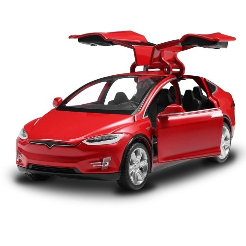 Diecast Toy 1:32 Scale Alloy Cars for Tesla Toy Model фото