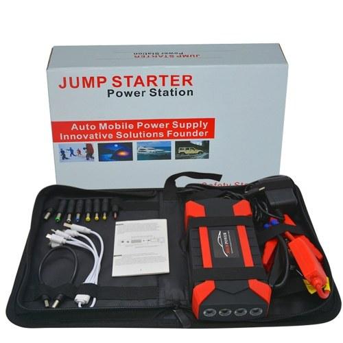 Portable 89800mAh Démarreur De Voiture Starter Charge Cellule 4 USB Charge Pal Lampe