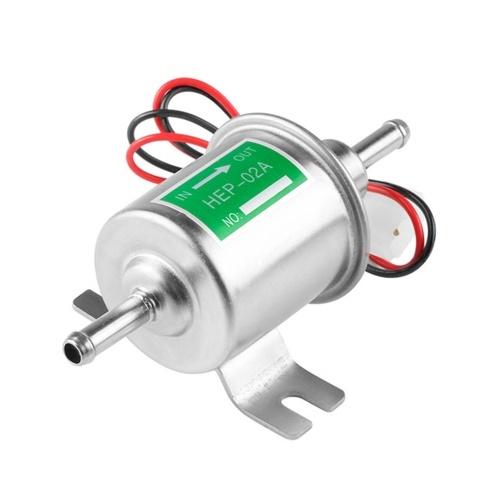Pompe à essence électrique HEP-02A diesel de gaz d'essence en ligne 12V 24V basse pression