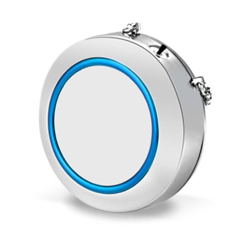 Portable Low Noise Necklace Air Purifier Freshener Necklace Mini Negative Ion Generator