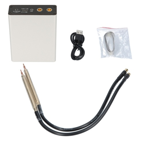 4.2V  Handheld Spot Welder  Automatic Welding Tools Adjustable for 18650 21700 32650 Lithium Battery Support 0.1-0.15mm Nickel Sheet