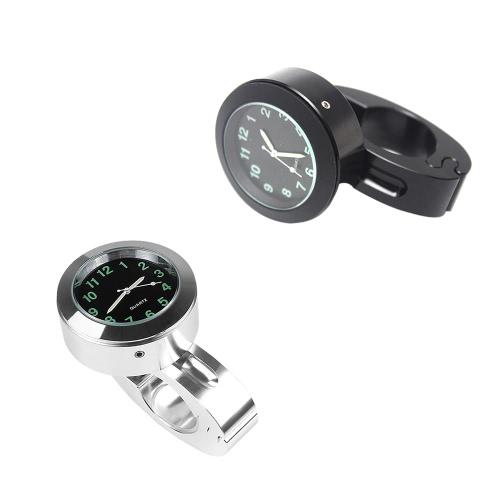 Universal 22mm Motorcycle Handlebar Mount Quartz Clock for Harley Davidson Retro Car