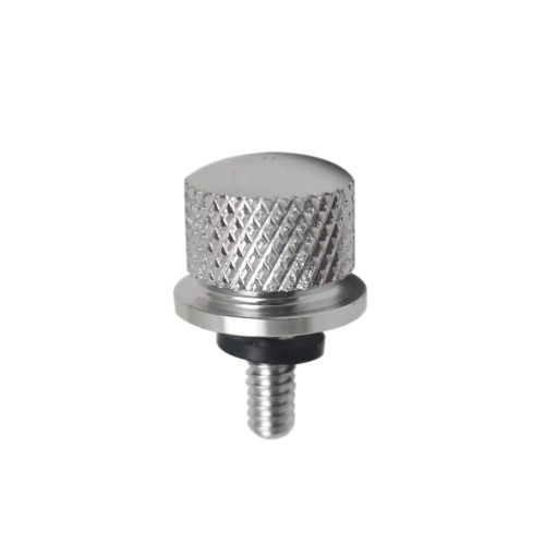 6mm Motorbike Knurled Seat Screw Bolt Rear Quick Mount Bolt for Motorcycle Harley Davidson