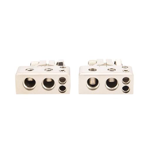 Terminales negativos positivos de la batería de coche del calibrador 4/8 de 2pcs 4/8