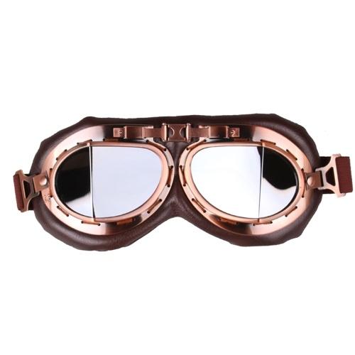 Мода ретро шлем Мотоцикл очки защитные очки очки Breathable шлем Racer очки фото
