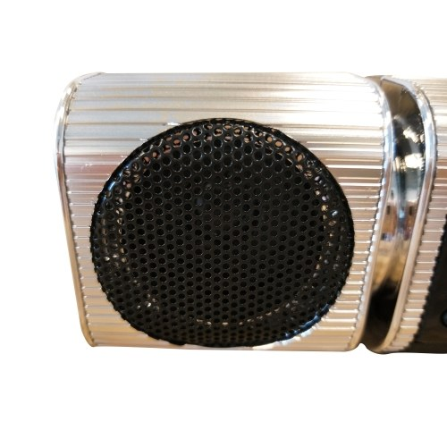 Fine-quality Voice Waterproof Motorcycle Audio Radio Sound System Stereo Speakers BT MP3 FM Striped