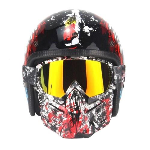 Gesichtsmaske taktischer Helm Masksunglas
