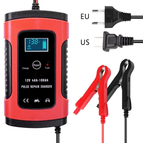 12V 6A Полностью автоматическое автомобильное зарядное устройство Интеллектуальное быстрое зарядное устройство Импульсное зарядное устройство