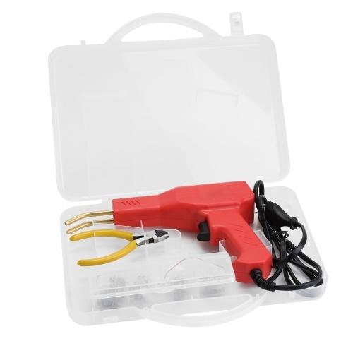 Handy Plastics Welder Garage Tools Hot Staplers Machine Staple PVC Repairing Machine